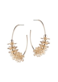 Dannijo Ella Embellished Hoop Earrings