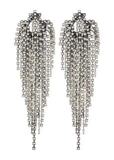 Dannijo Esme Fringe Faux Pearl Earrings