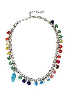 Dannijo Jade Beaded Charm Necklace