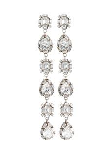 Dannijo Jodes Drop Crystal Earrings