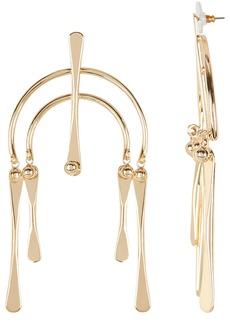 Dannijo Kamil Geometric Drop Earrings