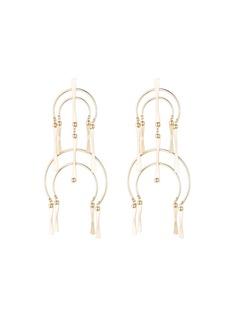 Dannijo Kamila Double-Drop Earrings