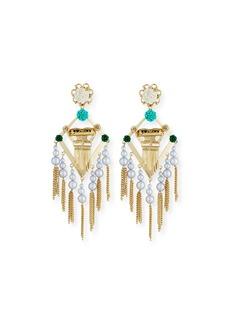 Dannijo King Statement Earrings