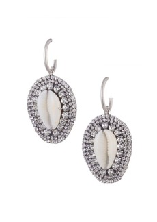 Dannijo Morris Conch Shell Silver Earrings