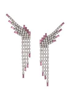 Dannijo Reina Fringe Drop Earrings