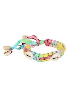 Dannijo Ren Braided Shell Bracelet