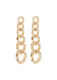 Dannijo Rodeo Chain Link Drop Earrings