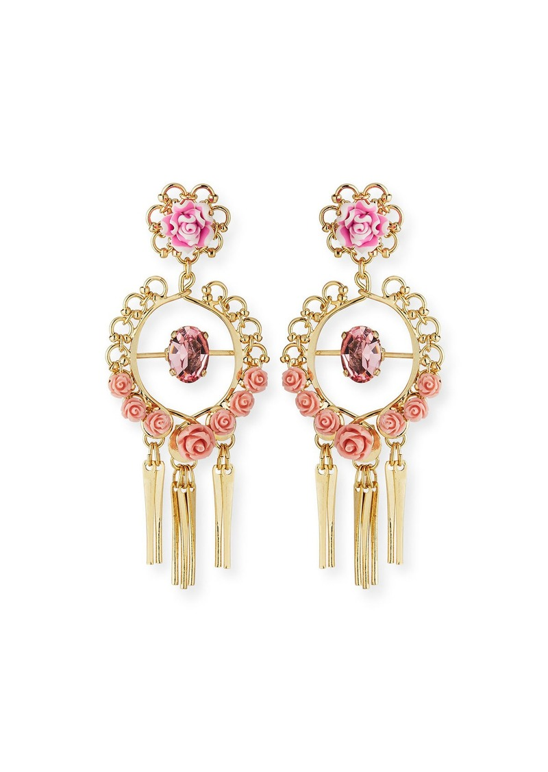 Dannijo Samara Golden Statement Earrings