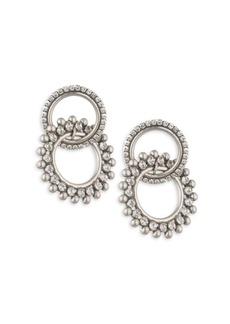 Dannijo Truby Double Hoop Earrings