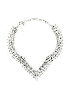 Dannijo Vicki crystal-embellished necklace