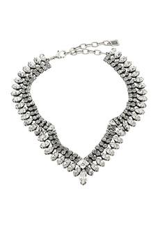 Dannijo Vicki V-Shaped Nape Necklace
