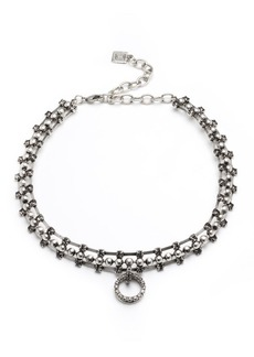 Dannijo Vixie Pearly Statement Necklace