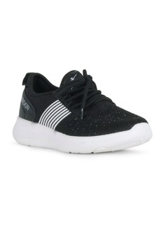 Danskin Strength Lace Up Sneaker with Contrast Trim Women's Shoes