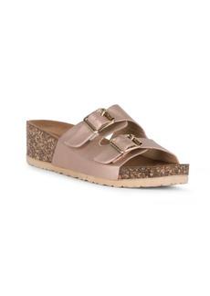 Danskin Virtue Slip On Double Buckle Sandal Women's Shoes