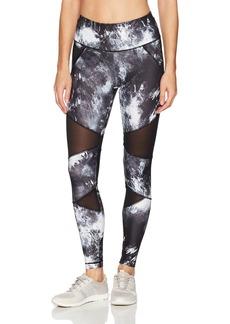Danskin Women's BCRF Printed Legging  Extra Large