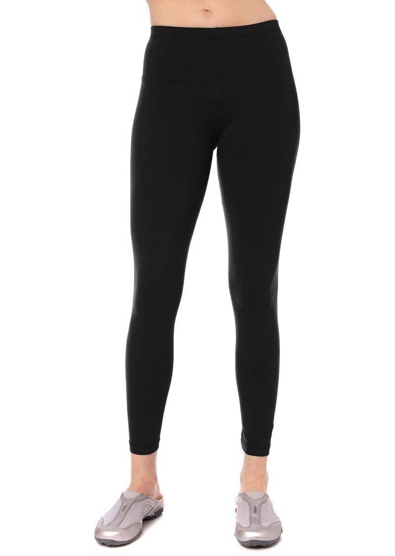 f9c215bd5c4f6 Danskin Danskin Women's Classic Supplex Body Fit Ankle Legging ...