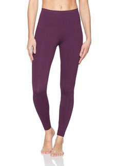 Danskin Women's Classic Supplex Body Fit Ankle Legging BlackBerry Wine Extra Small