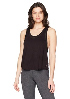 Danskin Women's Crossover Back Tank Top