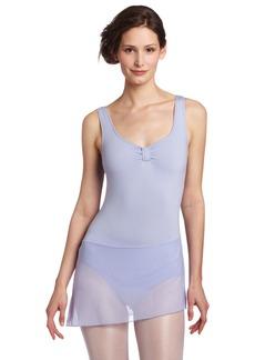 Danskin Women's Dance Dress with Mesh Skirt