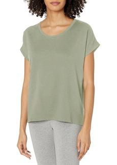 Danskin Women's Dolman Sleeve Cocoon T-Shirt