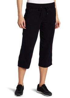 Danskin Women's Drawcord Crop Pant  Medium