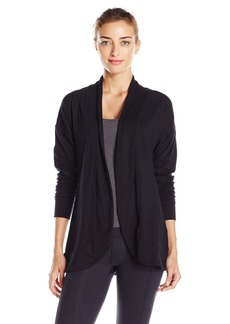 Danskin Women's Essential Open Front Cardigan  M
