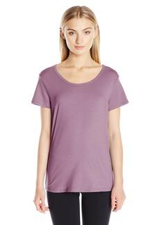 Danskin Women's Essential Short Sleeve Tee  L