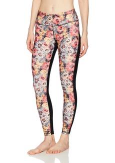 Danskin Women's Floral Printed Ankle Legging