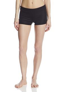 Danskin Women's Fold Over Boy Short