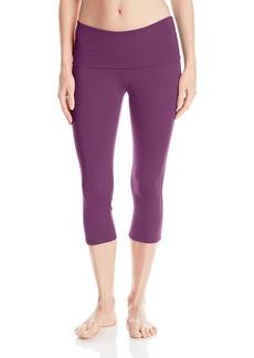 Danskin Women's Fold-Over Capri Legging