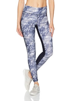 Danskin Women's Front Printed Ankle Legging  XL