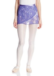 Danskin Women's Lace Wrap Skirt