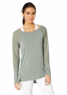 Danskin Women's Long Sleeve Tunic with Strappy Back  XL