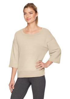 Danskin Women's Lounge Wide-Neck Pullover  XL