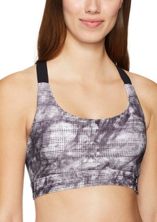 Danskin Women's Marble Printed Medium Impact Performance Bra  XS