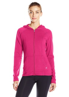 Danskin Women's Marrakesh French Terry Front Zip Jacket  L