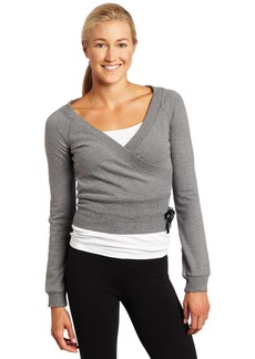 Danskin Women's NYCB Wrap Sweater  Large