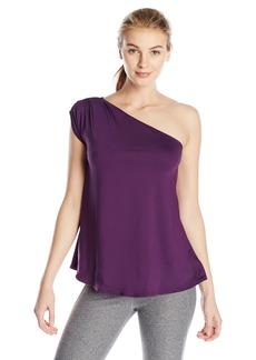 Danskin Women's One Shoulder Top