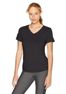 Danskin Women's Plus Size Active V-Neck T-Shirt