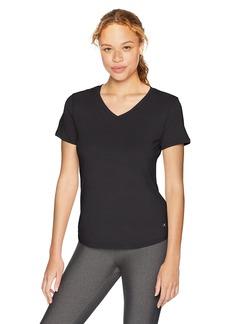 Danskin Women's Plus Size Active V-Neck T-Shirt