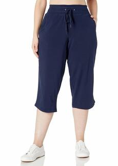 Danskin Women's Drawcord Crop Pant  L