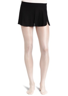 Danskin Women's Sheer Wrap Skirt  Petite