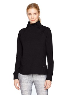 Danskin Women's Slant Zip Pullover