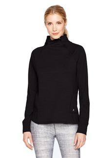 Danskin Women's Slant Zip Pullover  Extra Small