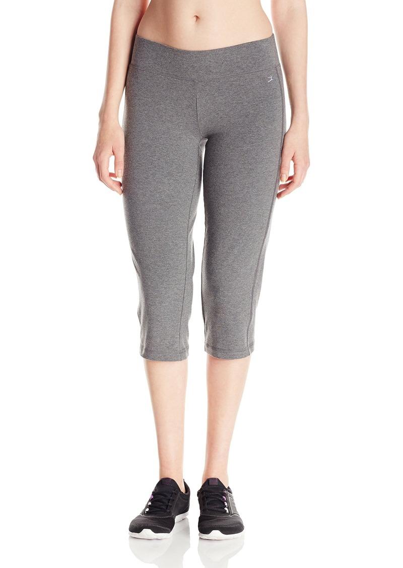 Danskin Danskin Women S Sleek Fit Yoga Crop Pant Casual