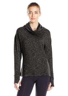 Danskin Women's Space Dye French Terry Pullover  L