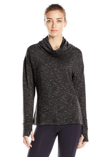 Danskin Women's Space Dye French Terry Pullover  S