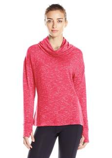 Danskin Women's Space Dye French Terry Pullover  XL