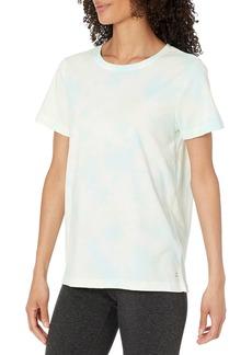 Danskin Women's Tie Dye Short Sleeve T-Shirt