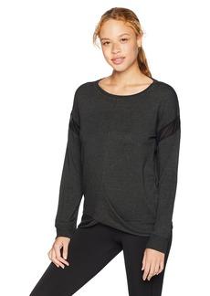 Danskin Women's Twist Front Pullover Sweatshirt